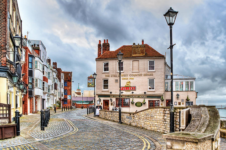 Photograph Photograph - Old Portsmouth by Trevor Wintle