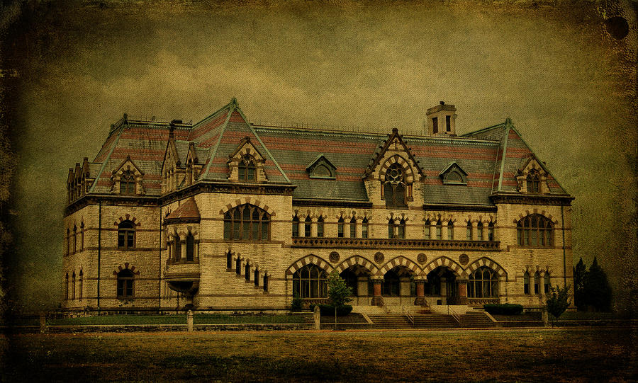 Architecture Photograph - Old Post Office - Customs House by Sandy Keeton