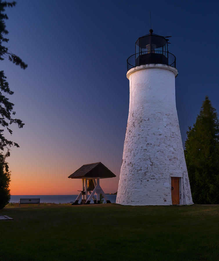 Great Lakes Photograph - Old Presque Isle Lighthouse by Thomas Pettengill
