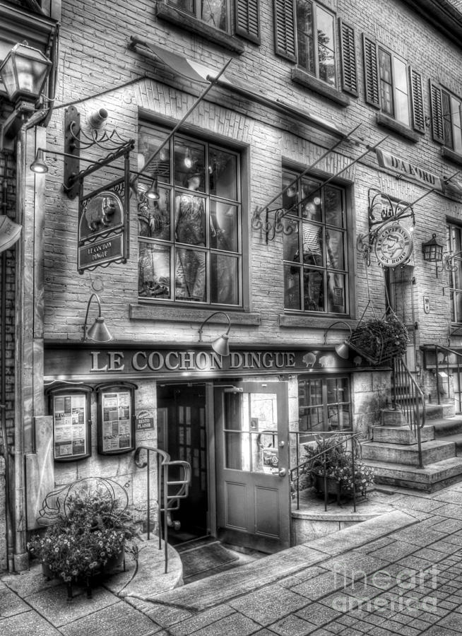 Quebec Photograph - Old Quebec City 3 by Mel Steinhauer