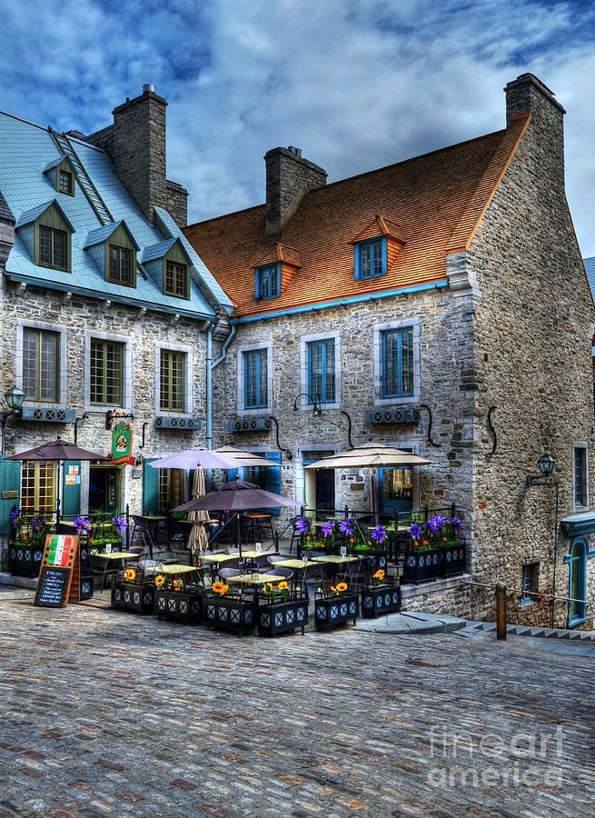 Quebec Photograph - Old Quebec City by Mel Steinhauer