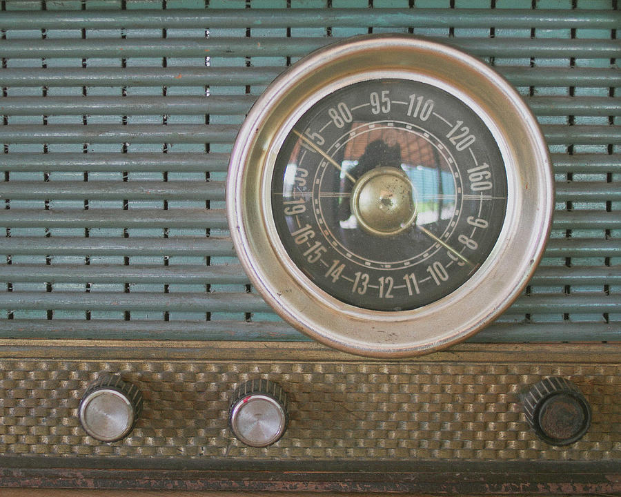 Old Radio Photograph by Carmen Moreno Photography