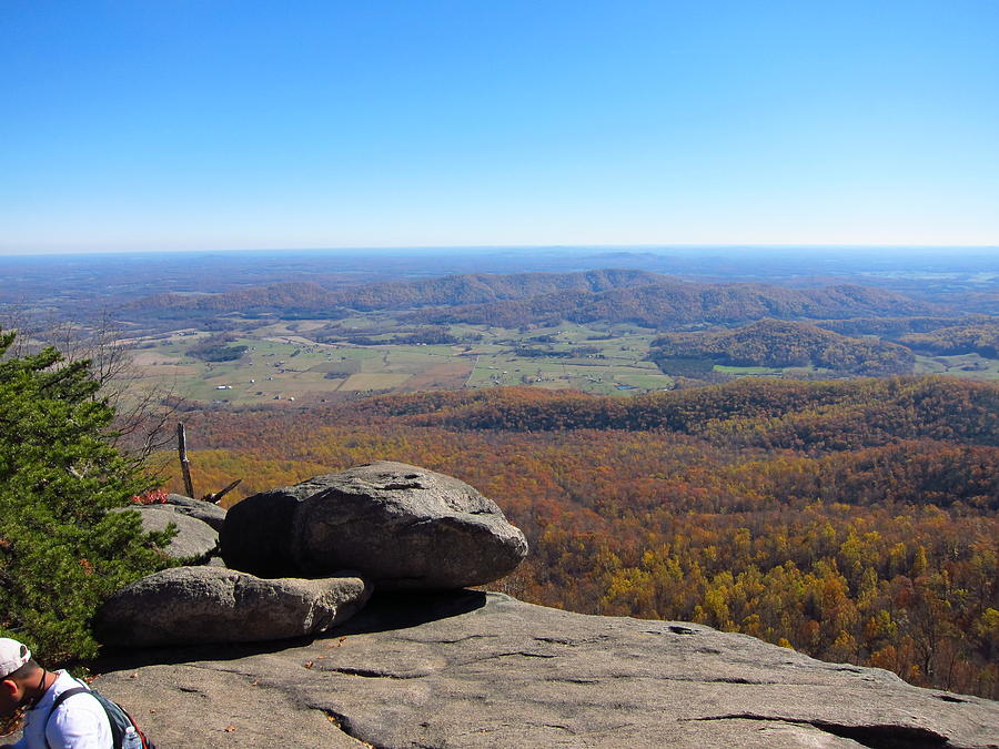 Old Photograph - Old Rag Hiking Trail - 121227 by DC Photographer