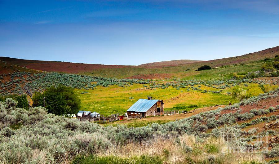 Emmett Photograph - Old Ranch by Robert Bales
