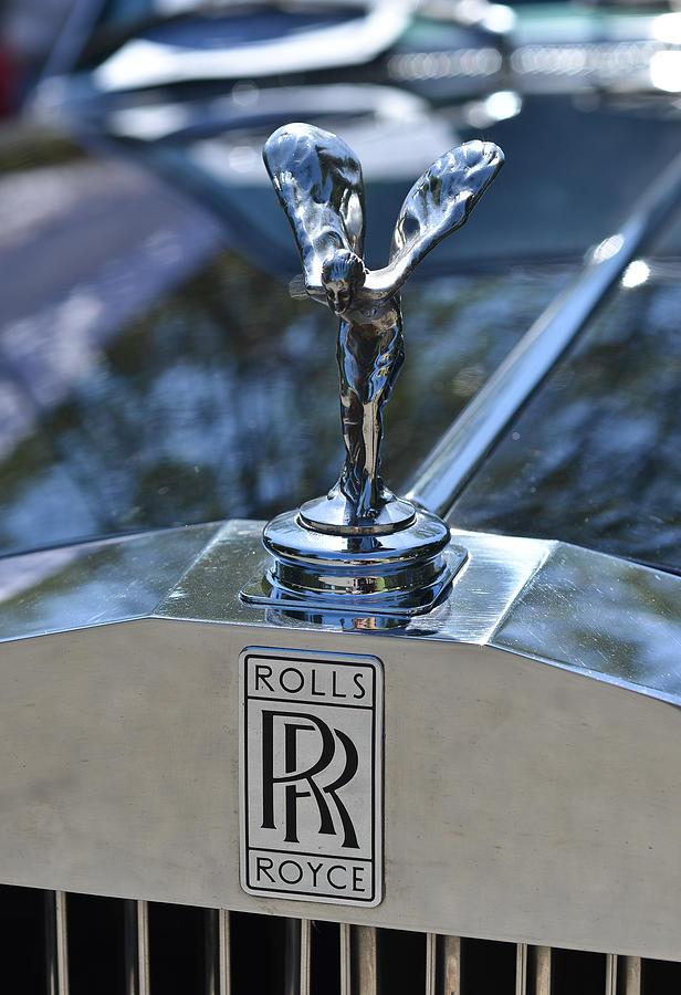 Old Rolls Royce Logo Photograph By Ronda Broatch