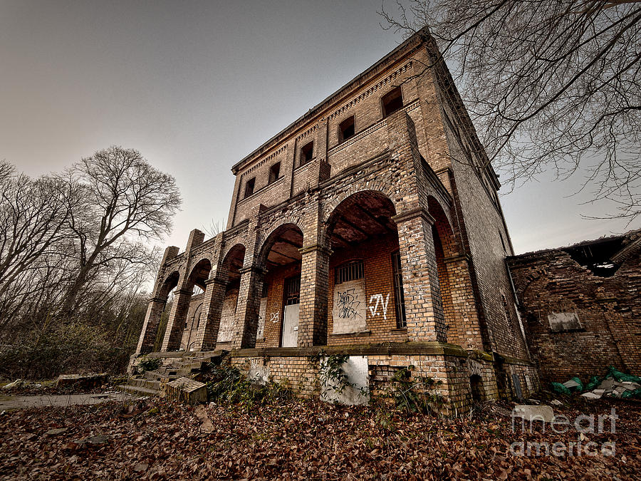Old Ruin Photograph
