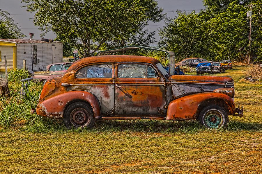 Old Rusted Car Photograph by Duane Angles