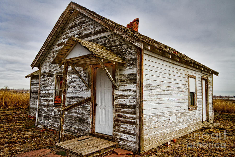 Farmhouse Photograph - Old Rustic Rural Country Farm House by James BO  Insogna