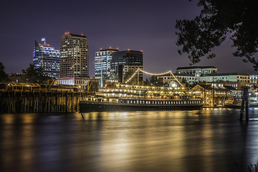 Land Photograph - Old Sacramento California... by Israel Marino