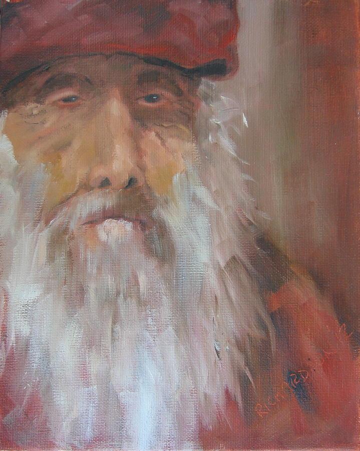 Old Man Painting - Old Salt Christo At 80 by Susan Richardson