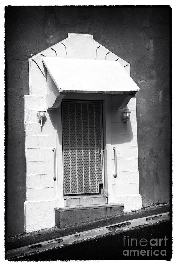 Architecture Photograph - Old San Juan Door by John Rizzuto