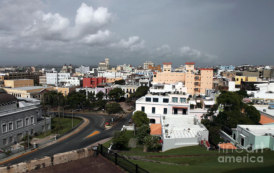 Old San Juan Photograph - Old San Juan by John Rizzuto
