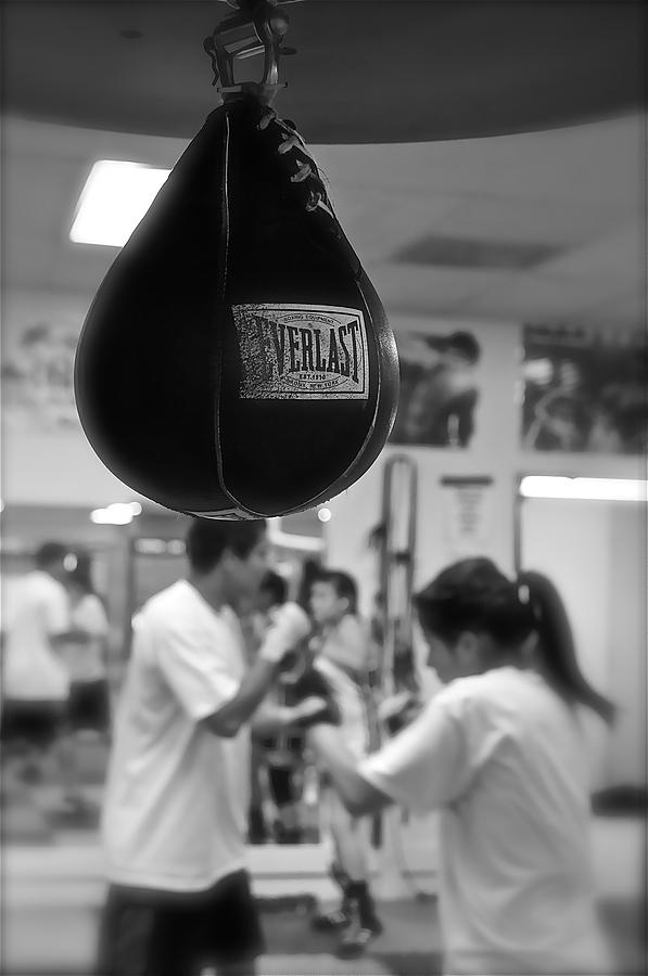 Old School Boxing by Colleen Renshaw