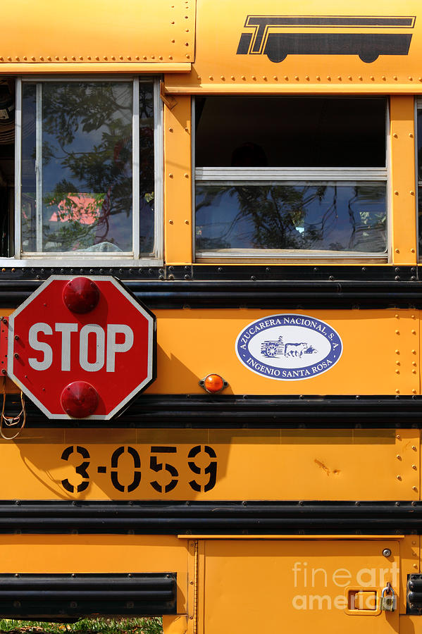 American Photograph - Old School Bus 1 by James Brunker