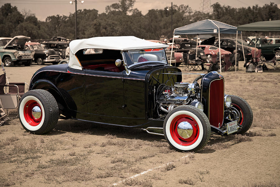 Old School Hot Rod Photograph by Joe Fernandez