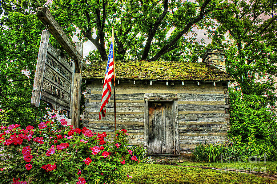 Kentucky Photograph - Old School House by Darren Fisher