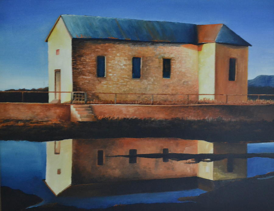Old School House Painting by Martin Schmidt