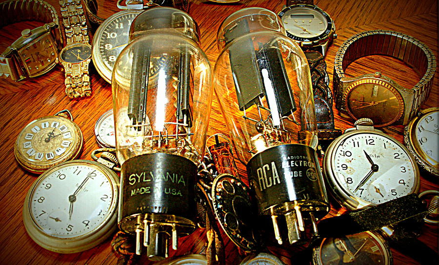Amplifier Photograph - Old School Tube And Time by Danny Jones