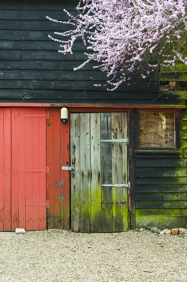 Architecture Photograph - Old Shed by Svetlana Sewell