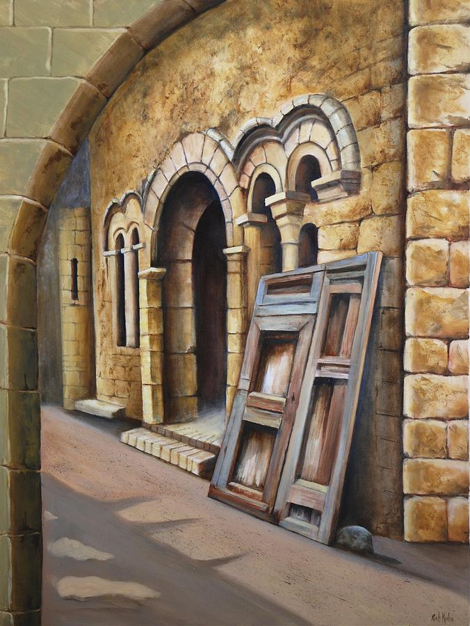 Monastery Painting - Old Spanish Monastery by Rich Kuhn