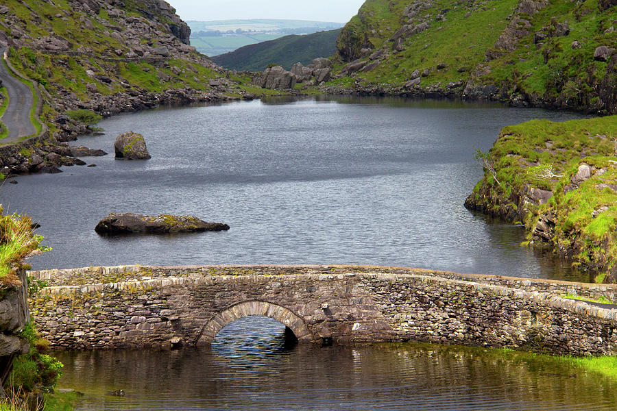 Old Stone Bridge In Irelands Gap Of Photograph by David Epperson