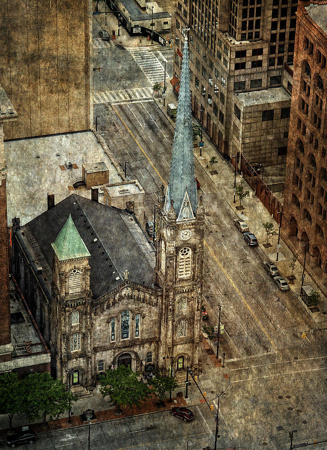 Old Stone Church Photograph - Old Stone Church by Dale Kincaid
