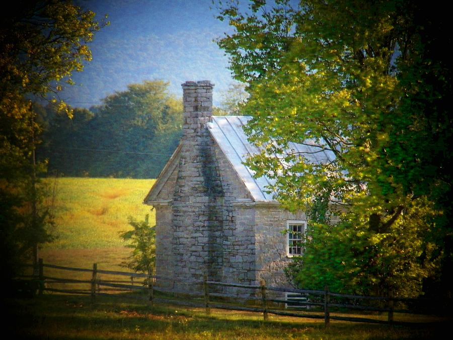 Shenandoah River Photograph - Old Stone House by Joyce Kimble Smith