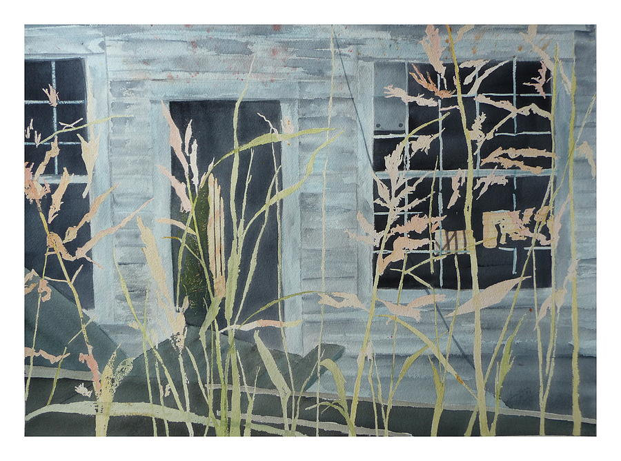 Catawba County Painting - Old Store At June Bug Road by Joel Deutsch