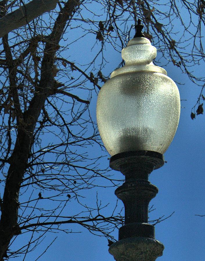 Fillmore Photograph - Old Street Lights by Michael Gordon