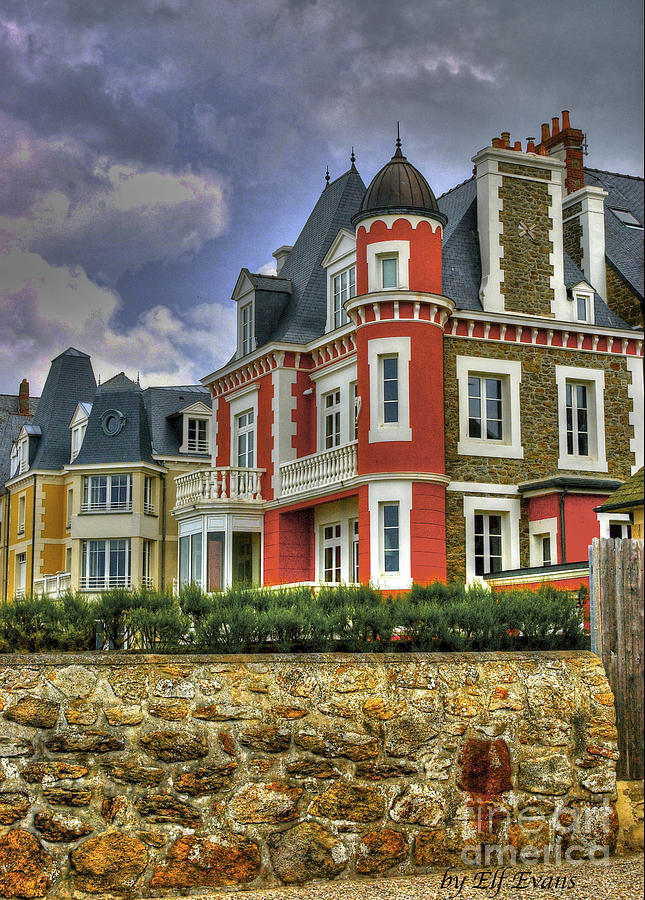 Architecture Photograph - Old Style In Parame  by Elf Evans