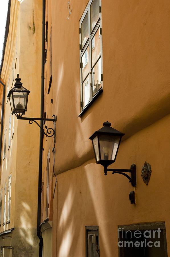 Cobblestone Photograph - Old Swedish Wall by Micah May