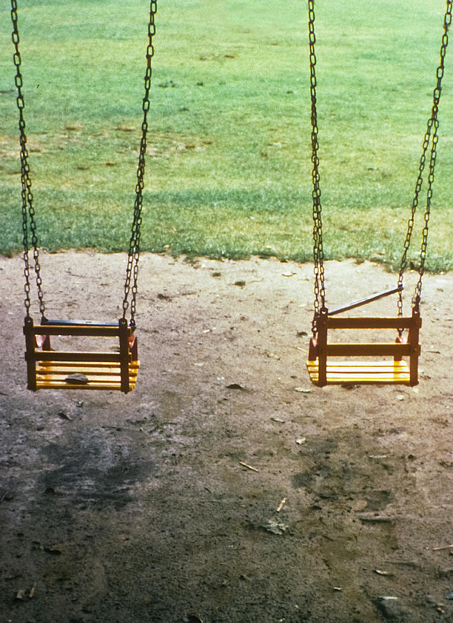 Old Swings In Brookdale Park Photograph