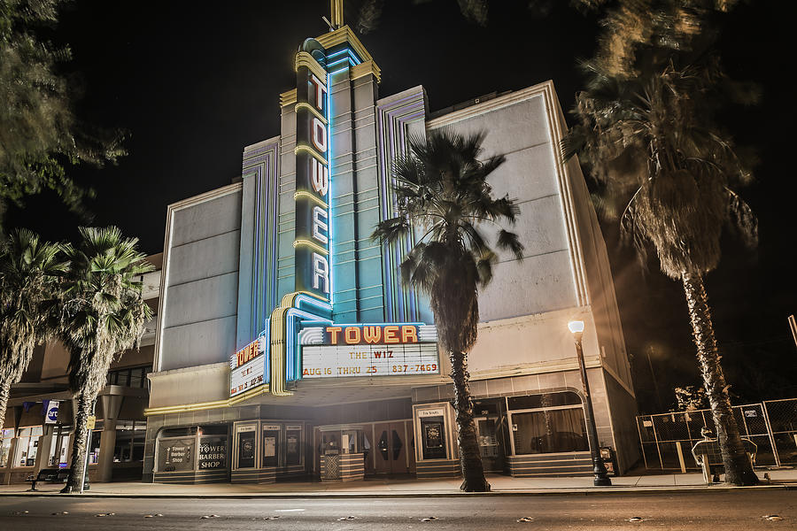 Architecture Photograph - Old Theatre In Roseville California...  by Israel Marino