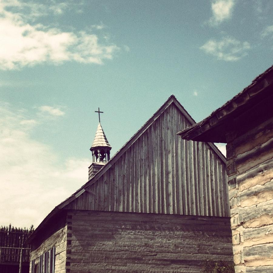 Church Photograph - Old Time Religion by Christy Beckwith