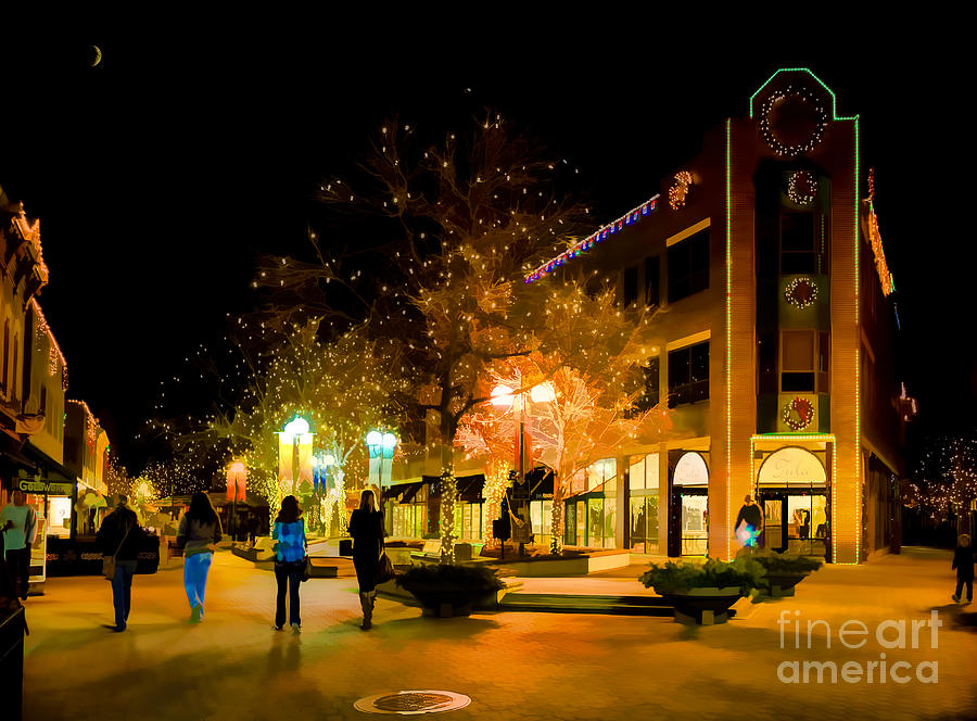 Old Town Photograph - Old Town Christmas by Jon Burch Photography