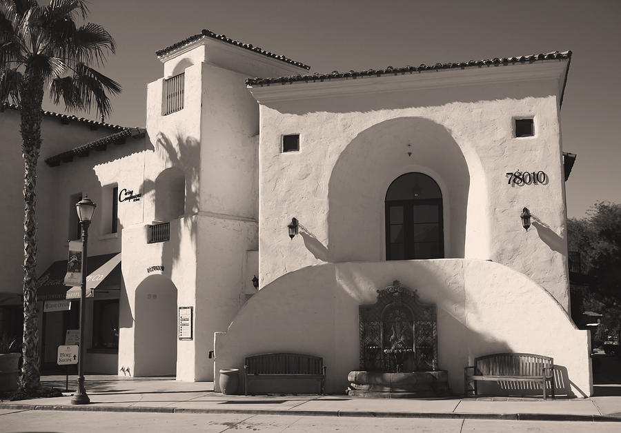 Old Town La Quinta Photograph - Old Town by Laurie Search
