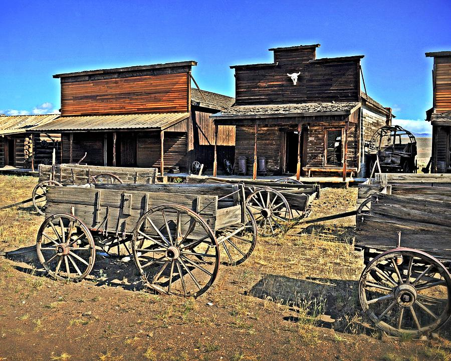 American West Photograph - Old Town Mainstreet by Marty Koch