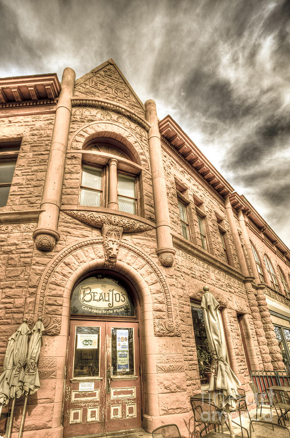 Fort Collins Photograph - Old Town Sandstone by JulieannaD Photography