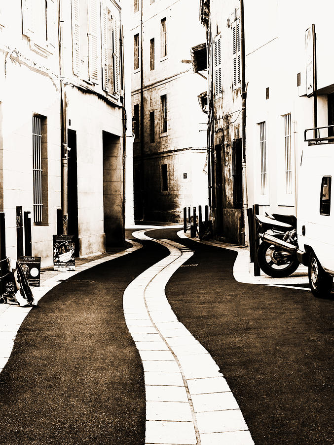 Urban Photograph - Old Town Streams  by Yevgeni Kacnelson