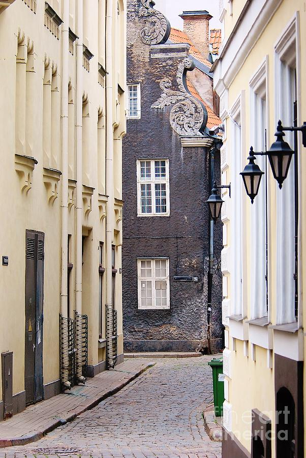 City Photograph - Old Town Street by Gene Mark
