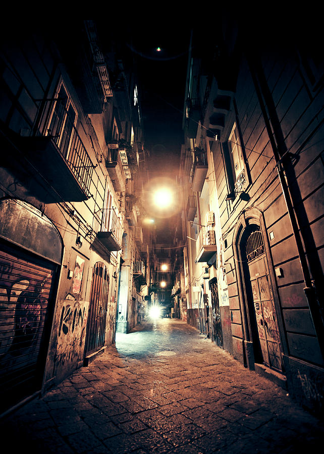 Old Town Streets Photograph by Peeterv