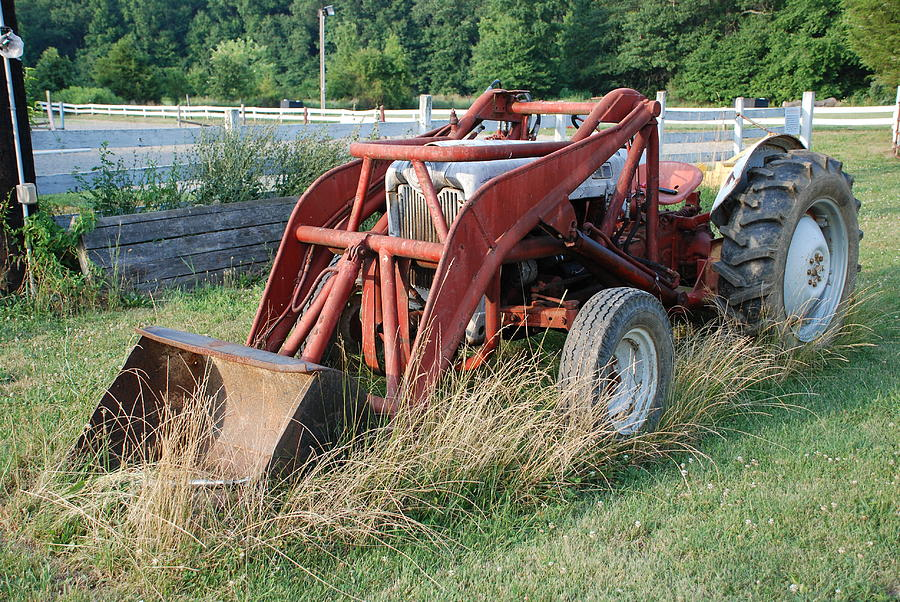 Tractor Photograph - Old Tractor by Jennifer Ancker