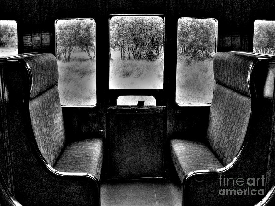 Old Train Compartment Photograph By Nina Ficur Feenan
