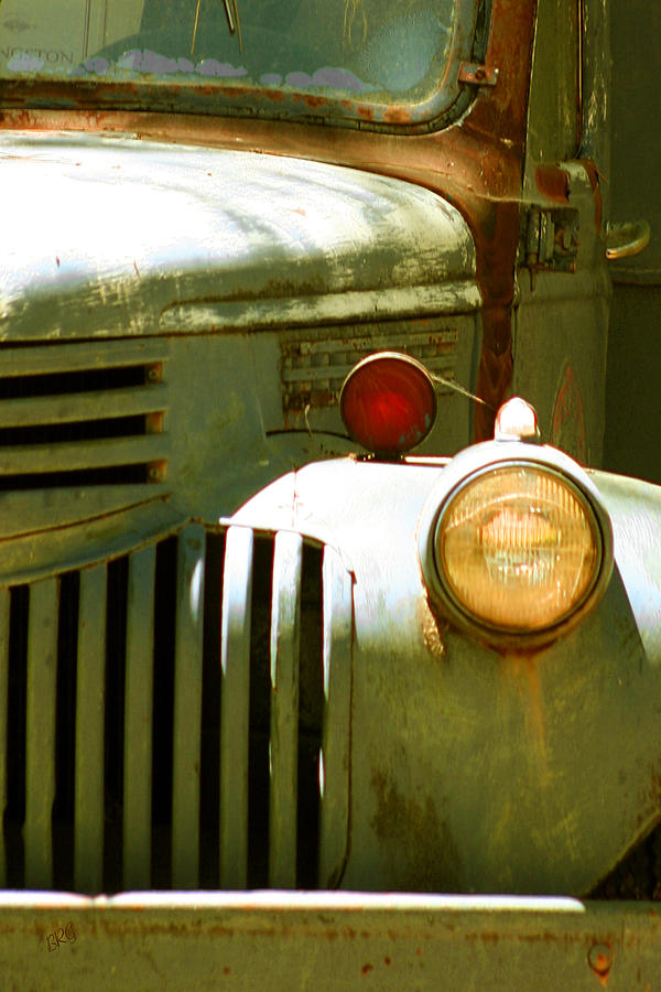 Junker Photograph - Old Truck Abstract by Ben and Raisa Gertsberg