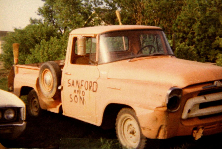 Old Photograph - Old Truck by Mavis Reid Nugent