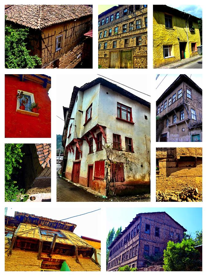 Old Turkish Houses by Zafer Gurel