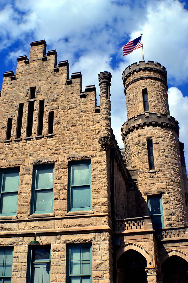 Building Photograph - Old Vanderburgh County Jail by Deena Stoddard