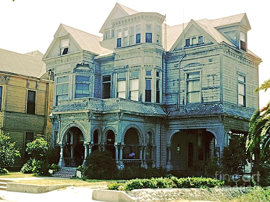 old victorian estate home in the bunker hill area of los angeles