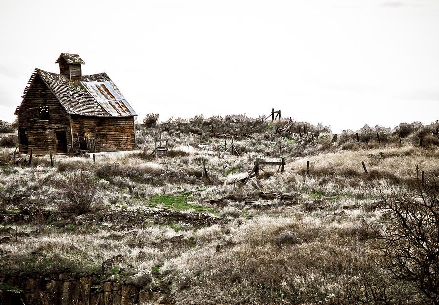 Cabin Photograph - Old West School  by Steve McKinzie