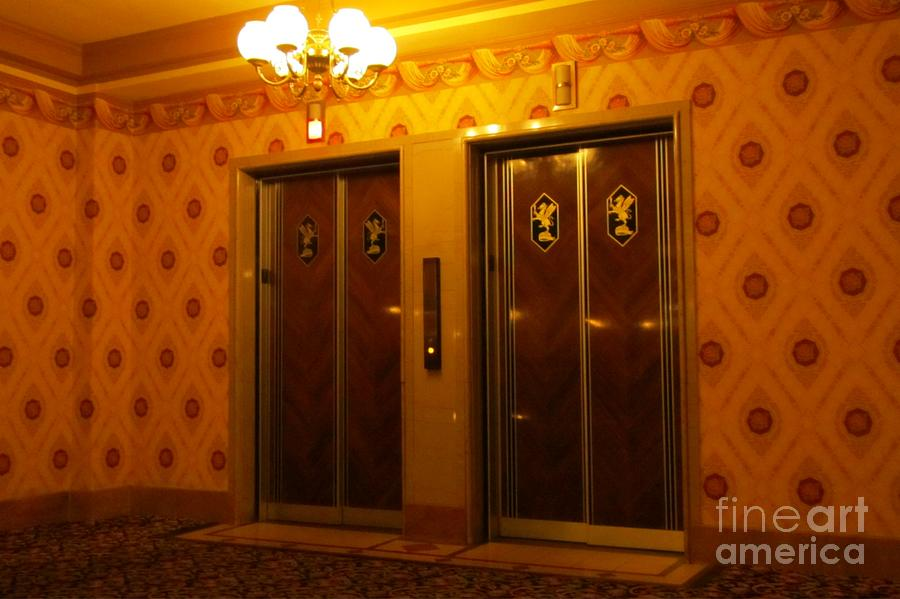 Old Westinghouse Elevators At The Brown Palace Hotel In